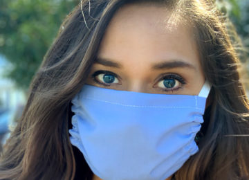 Rapid Distribution of Antimicrobial, Washable Face Masks in the US
